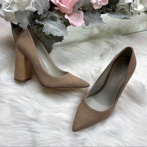 b768c6d89977 1. State Shoes | 1 State Valencia Pump Stone Rio Nubuck 75 Nwt ...